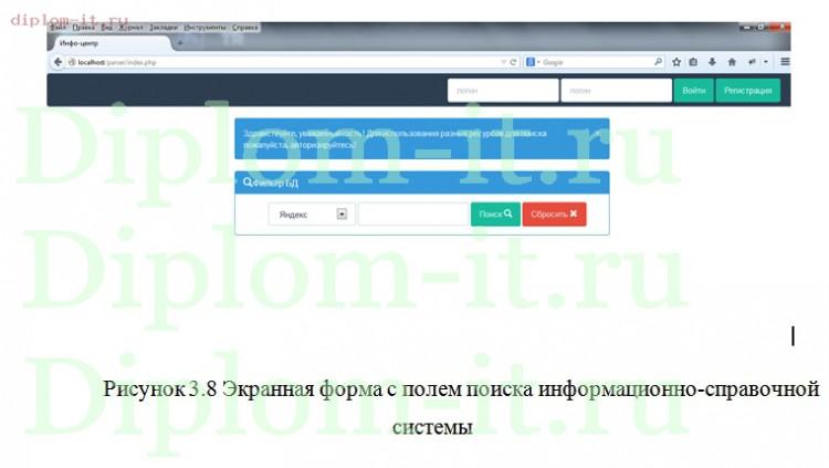 Дипломная работа прикладная информатика в экономике год  Автоматизация поиска специализированной научной литературы в сети Интернет Работа подготовлена и защищена в 2014 году в